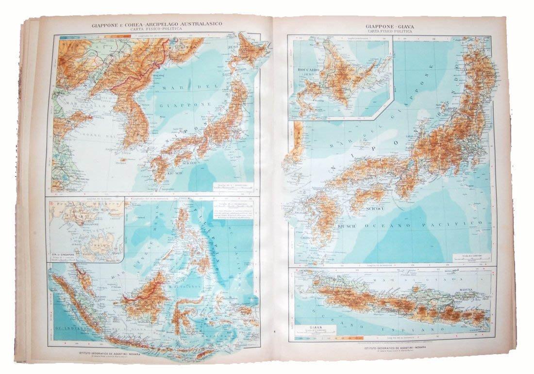 [Atlases] Baratta-Visentin & TCI, 1920-43, 2 v.