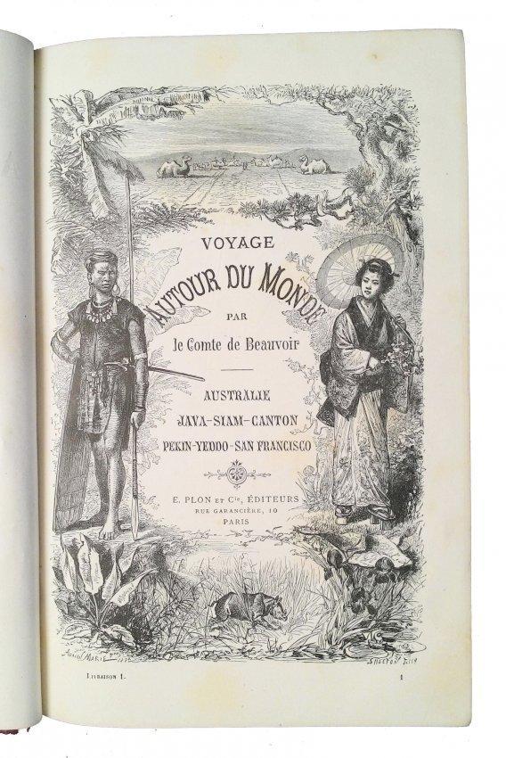 [Australia, Far East] Comte de Beauvoir, 1878