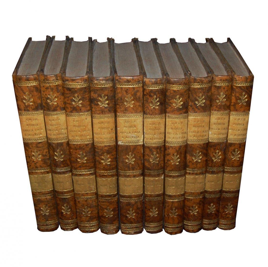 [Austria, Habsburg] Coxe, 1823-1826, 10 vols