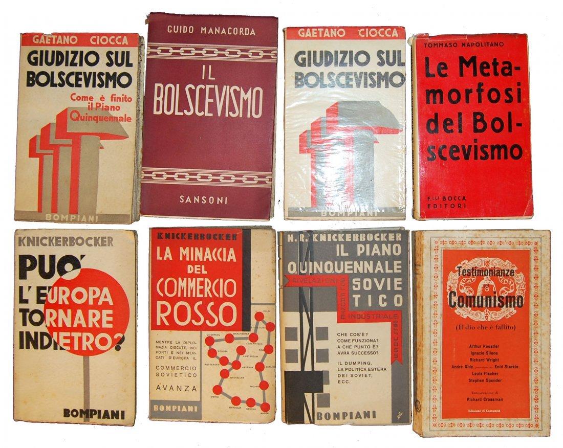 [Bolshevism, Communism] 1932-50, 8 vols