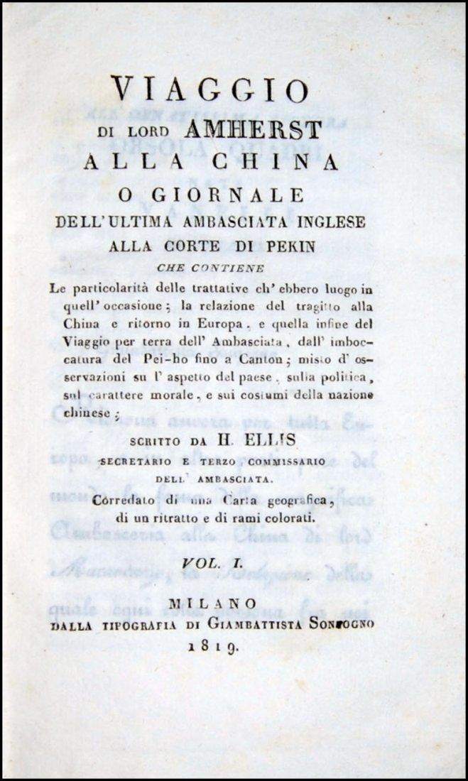 [China] Ellis, 1819, 2 vols