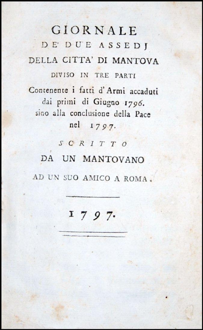 [Mantua, Napoleon, Sicily] 3 works, 1797-1806