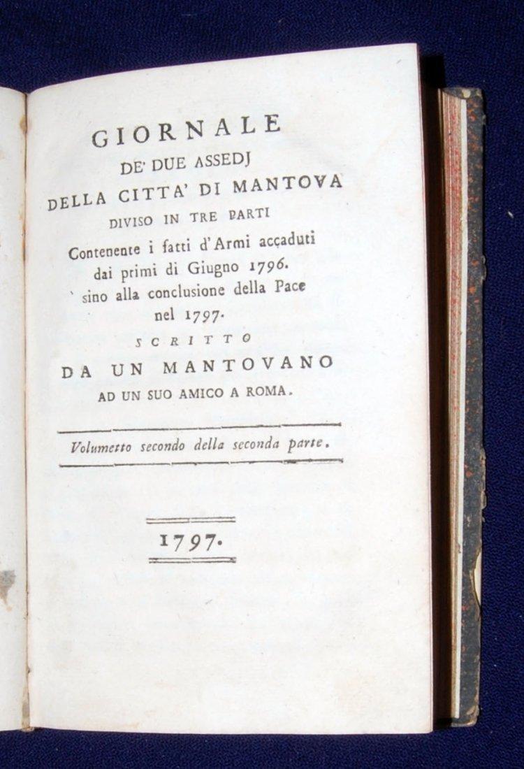 [Mantua, Napoleon, Sicily] 3 works, 1797-1806 - 4