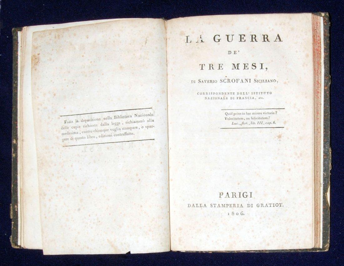 [Mantua, Napoleon, Sicily] 3 works, 1797-1806 - 6