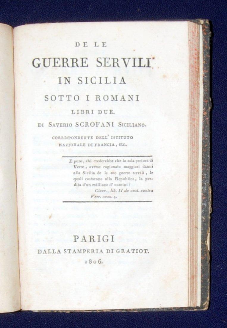 [Mantua, Napoleon, Sicily] 3 works, 1797-1806 - 7