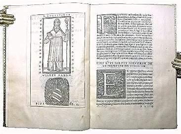 [Rome, Statuts/Privilege, Printed on vellum] Pio V 1567