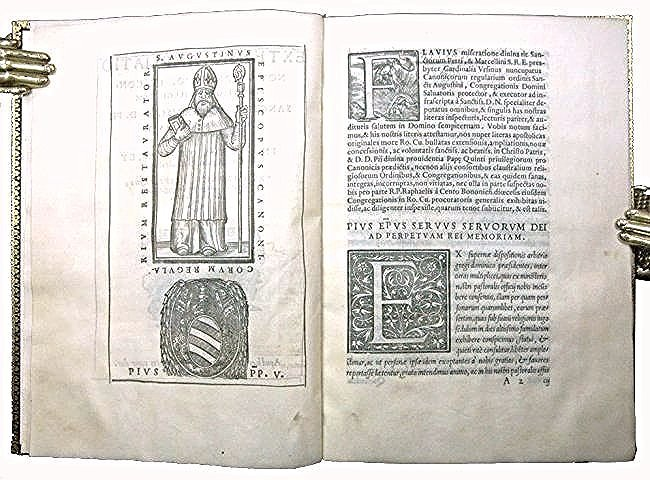 [Rome, Statuts/Privilege, Printed on vellum] Pio V 1567
