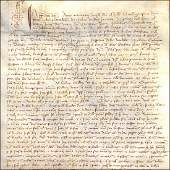 Olive groves Verona Ms on vellum 11 January 1421
