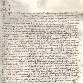 Land Lease Verona Ms on vellum 21 January 1455