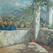 Vincenzo Irolli (1860-1942), Terrazza di Capri
