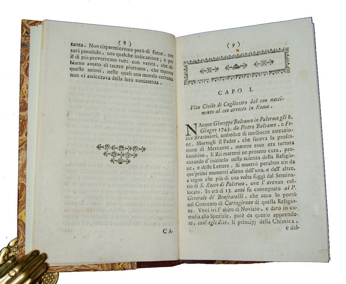 [Freemasonry] Barberi, Conte di Cagliostro, 1791 - 3