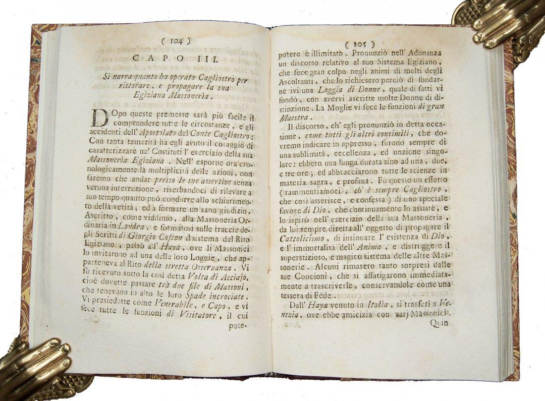 [Freemasonry] Barberi, Conte di Cagliostro, 1791 - 4