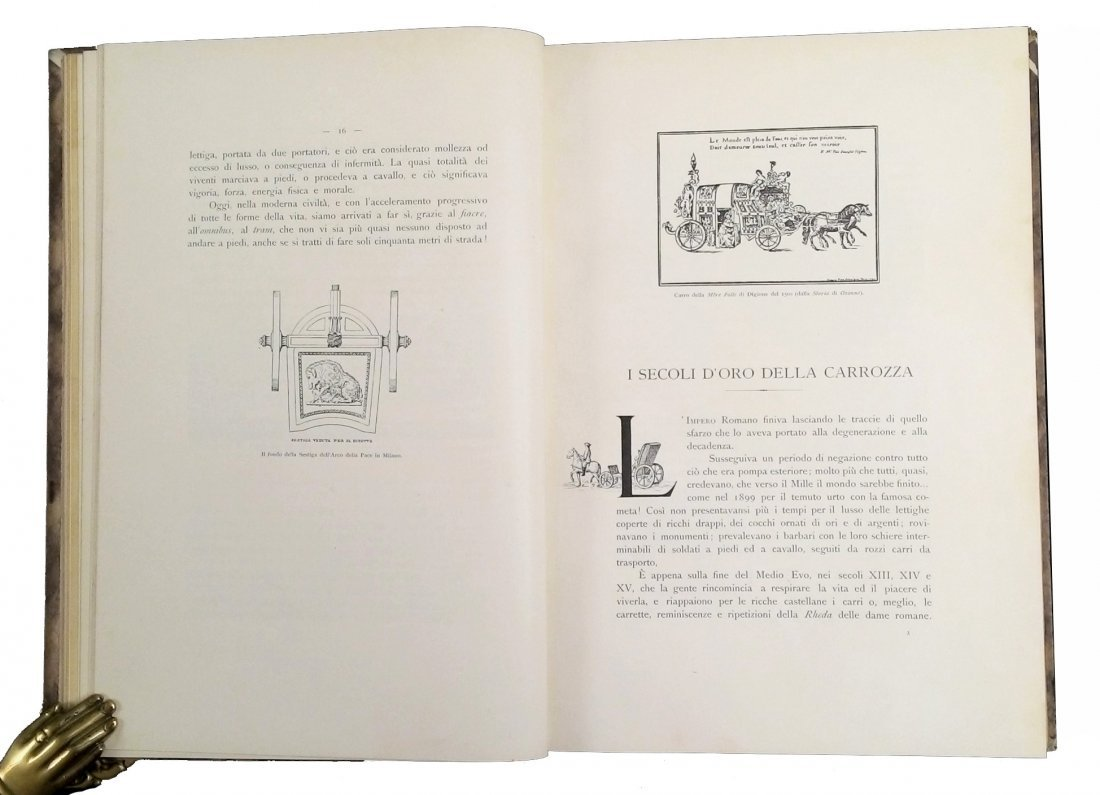 [Coaches & Fiacres, Illustrated History] Belloni 1901 - 3
