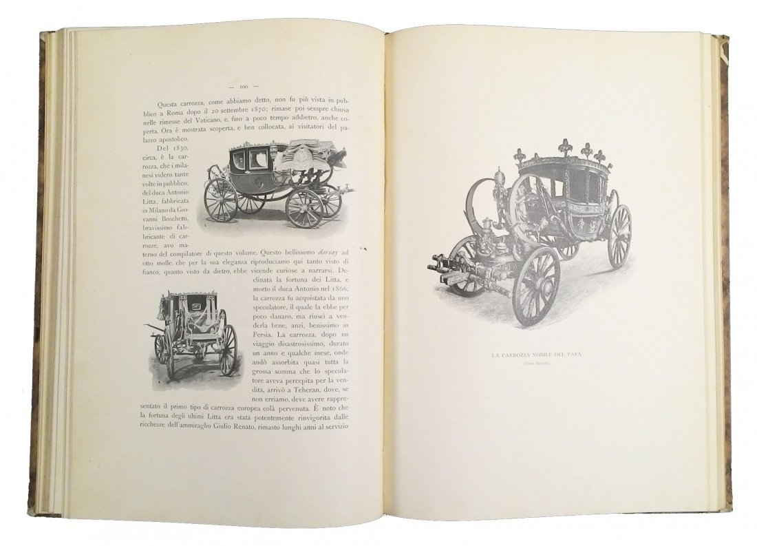 [Coaches & Fiacres, Illustrated History] Belloni 1901 - 4