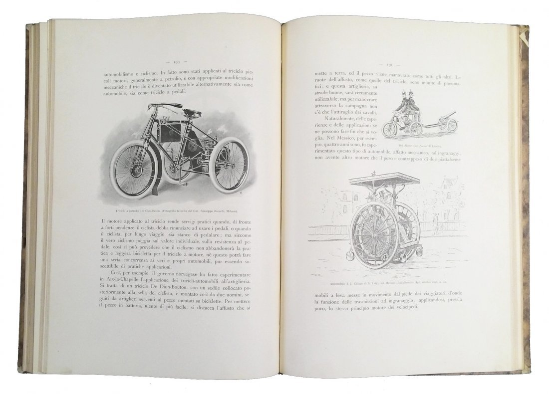 [Coaches & Fiacres, Illustrated History] Belloni 1901 - 6