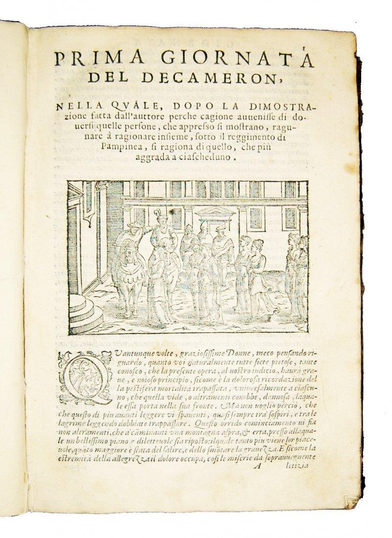 [Novellas] Boccaccio, Decameron, 1597-1799, 2 works - 2