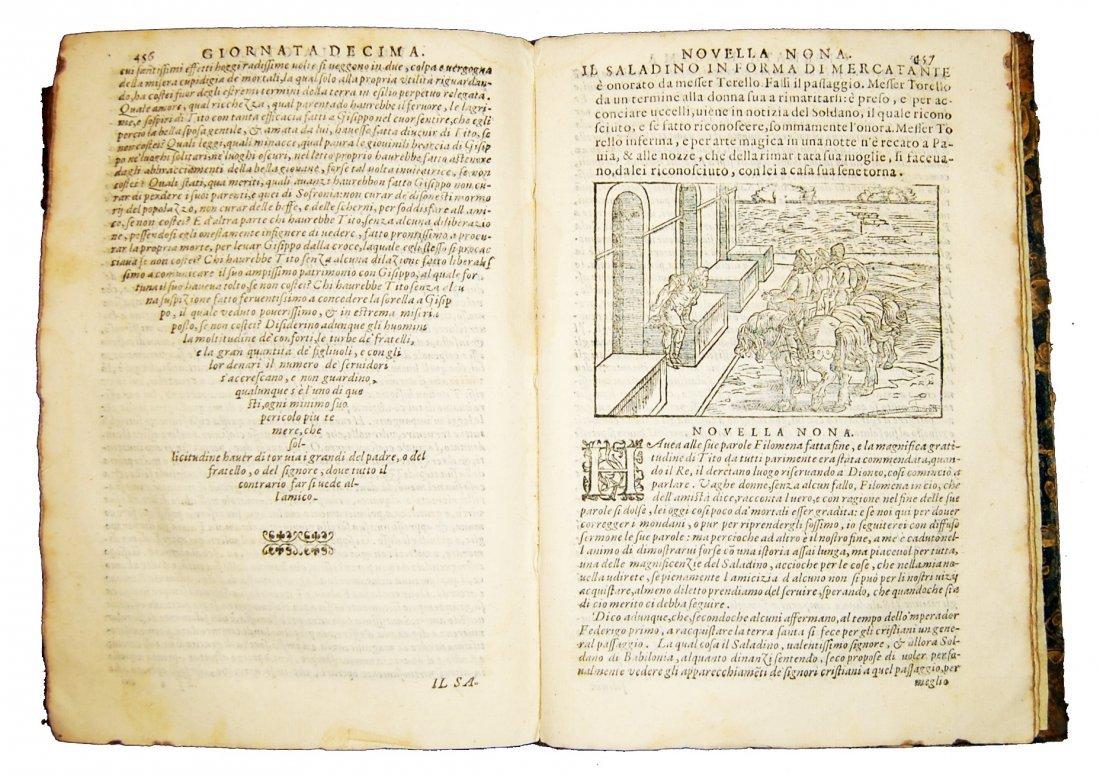 [Novellas] Boccaccio, Decameron, 1597-1799, 2 works - 4