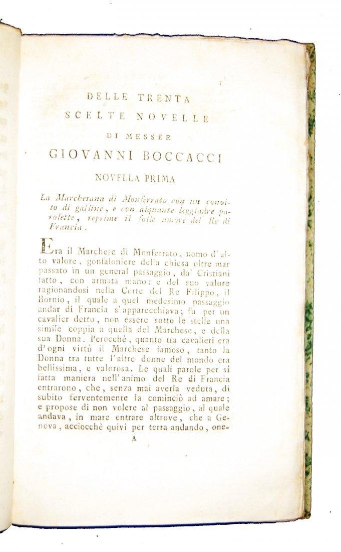 [Novellas] Boccaccio, Decameron, 1597-1799, 2 works - 7