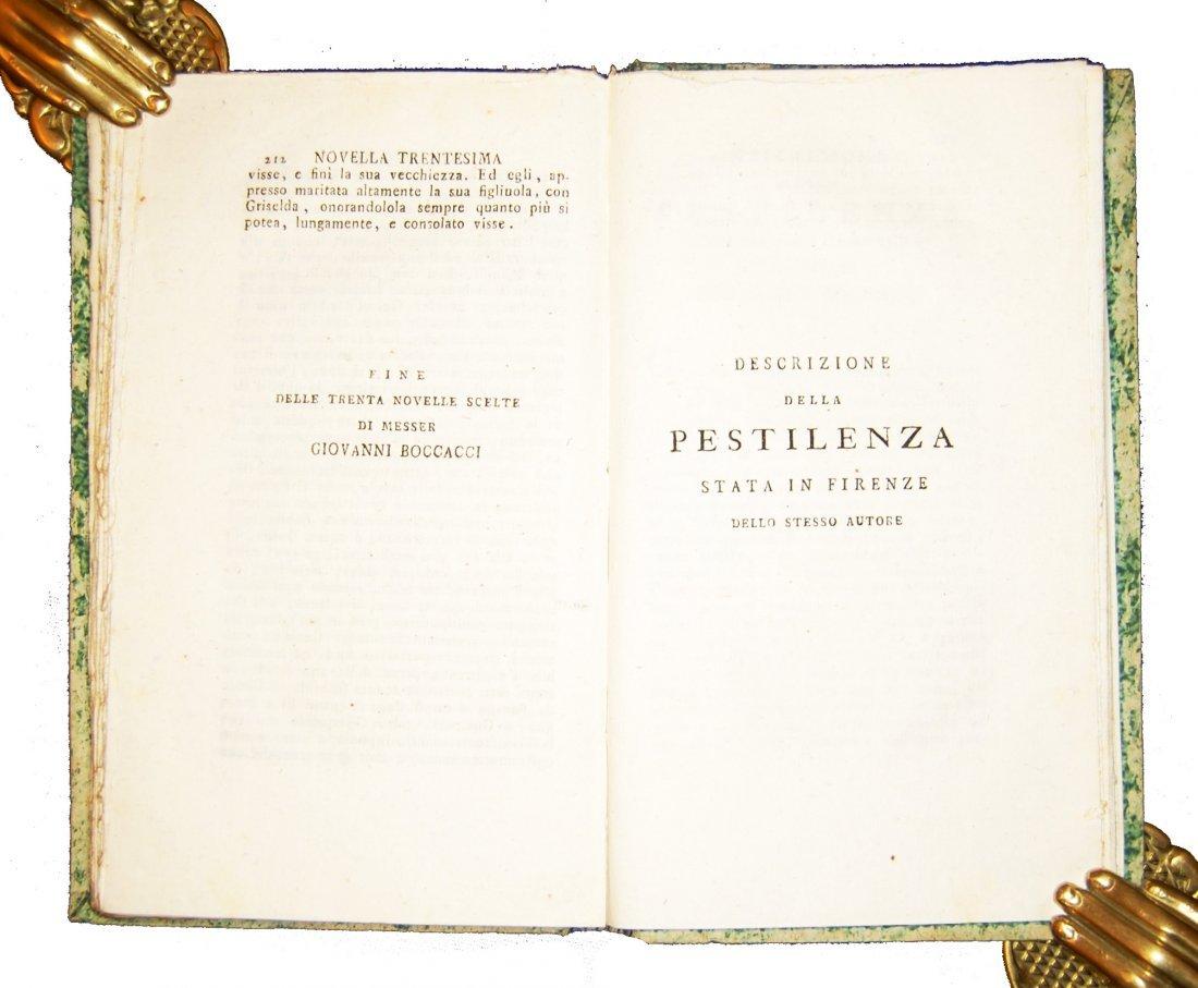 [Novellas] Boccaccio, Decameron, 1597-1799, 2 works - 8