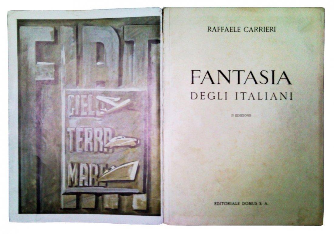 [Advertising, Fascism] Carrieri, 1939