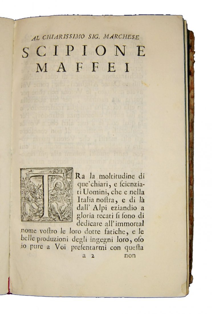 [Poetry, Divine Comedy] Dante, 1749, 3 vols - 2