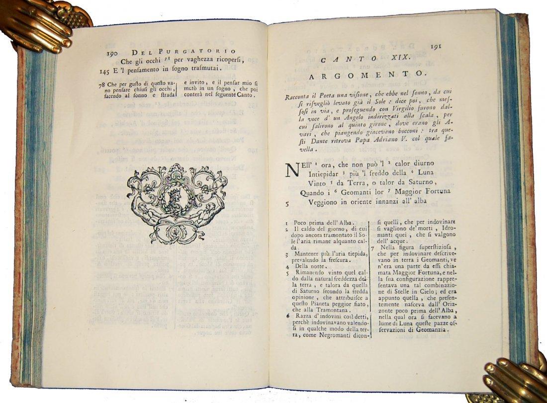 [Poetry, Divine Comedy] Dante, 1749, 3 vols - 6