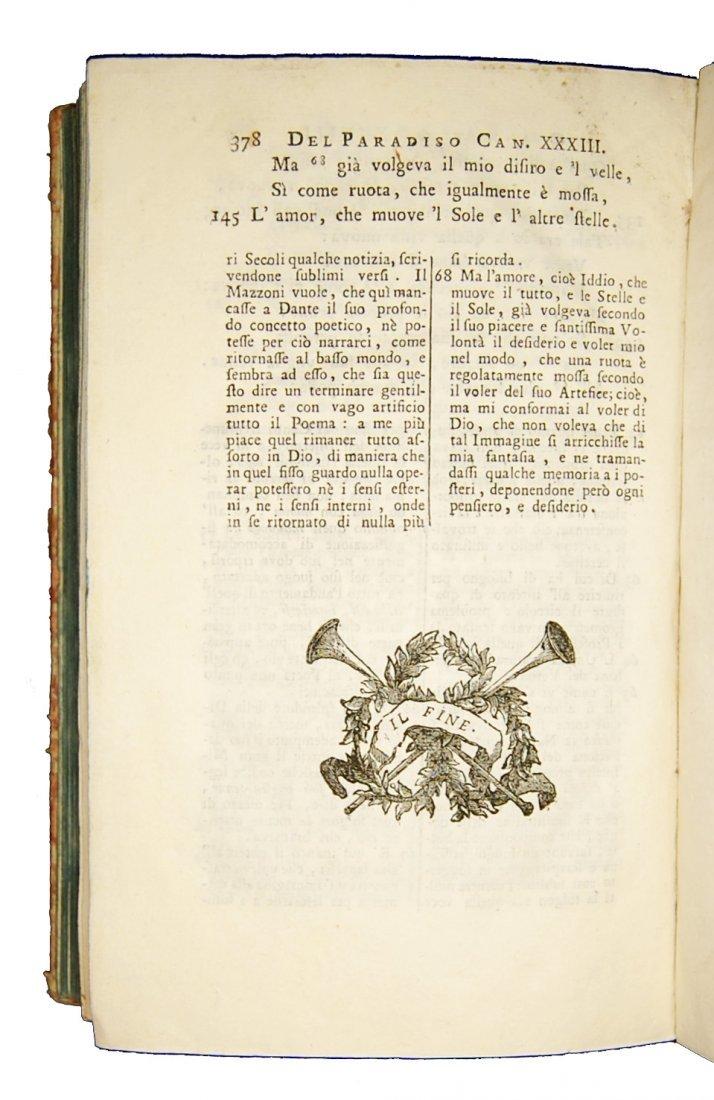 [Poetry, Divine Comedy] Dante, 1749, 3 vols - 8