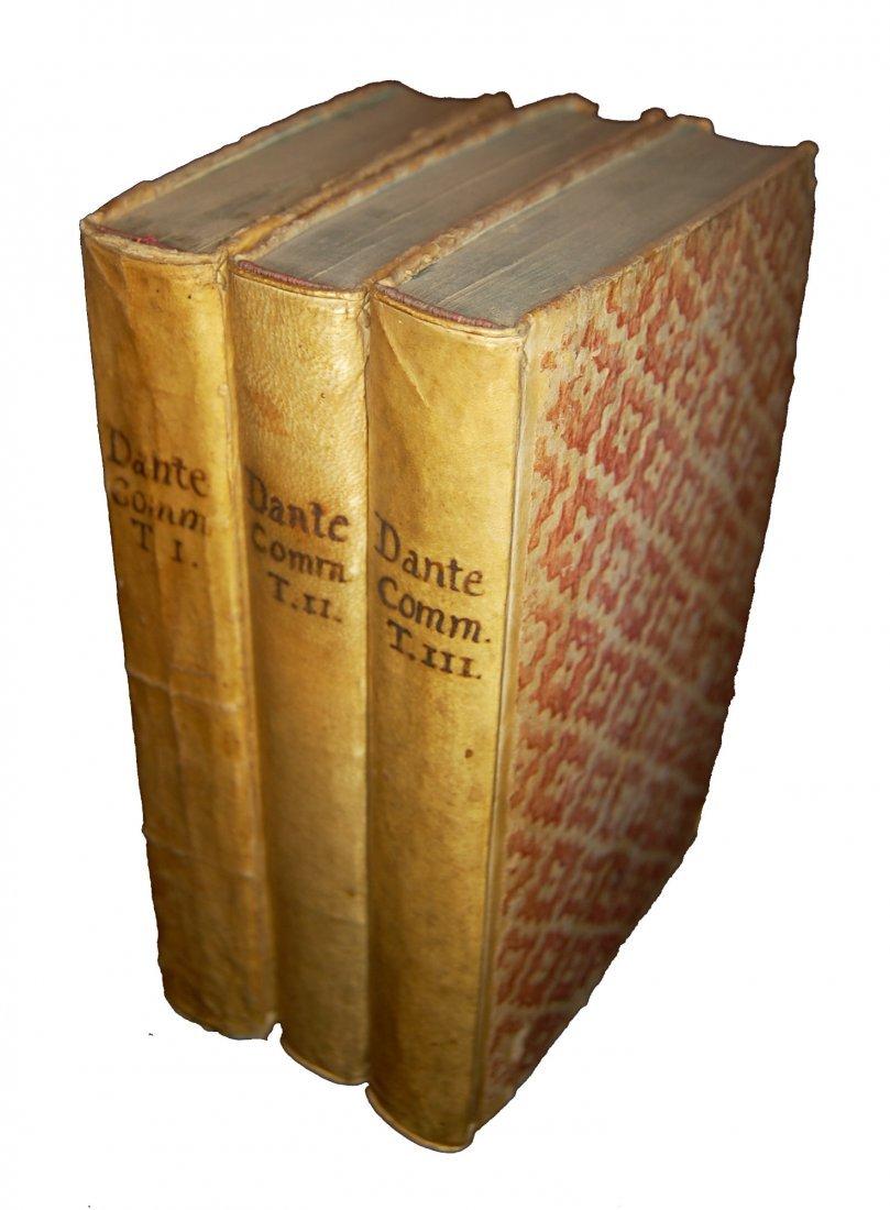 [Poetry, Divine Comedy] Dante, 1749, 3 vols - 9