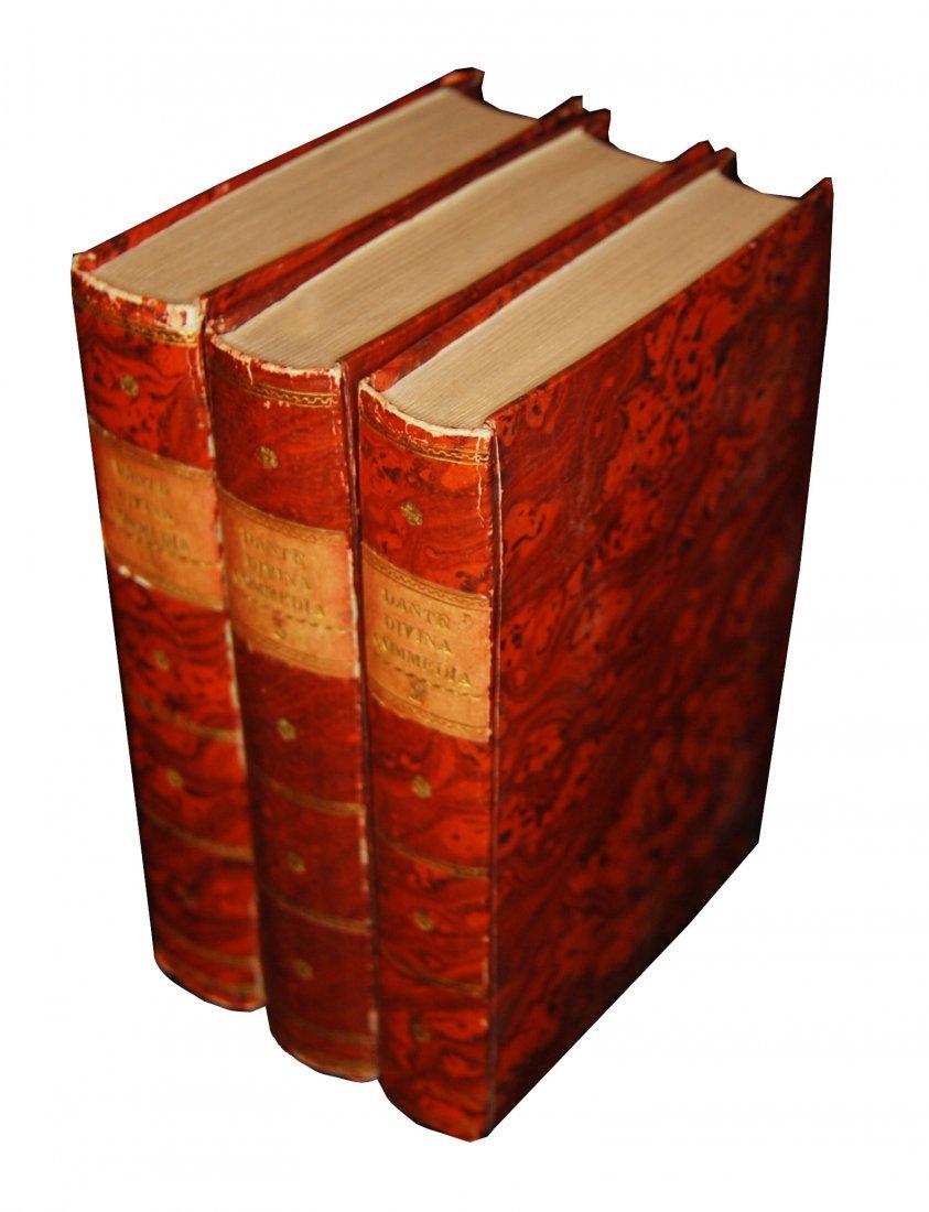 [Poetry, Divine Comedy] Dante, Prato, 1822, 3 vols - 2