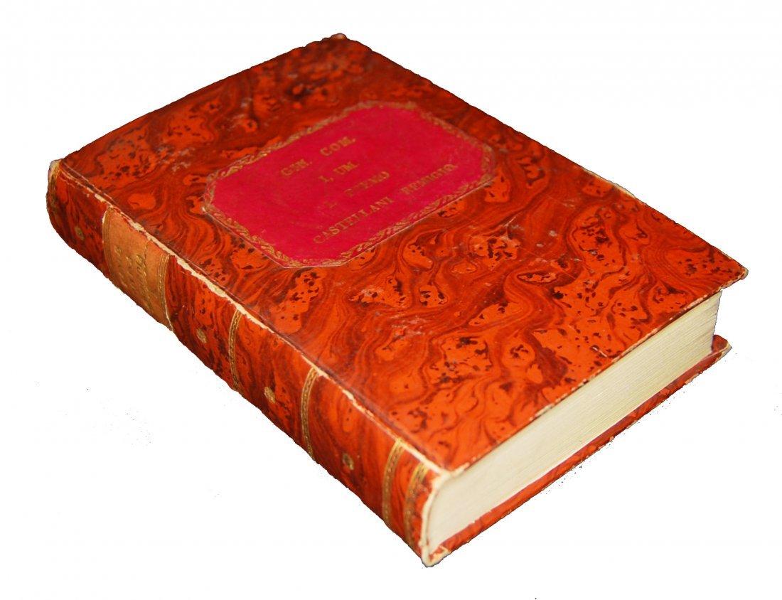 [Poetry, Divine Comedy] Dante, Prato, 1822, 3 vols - 3