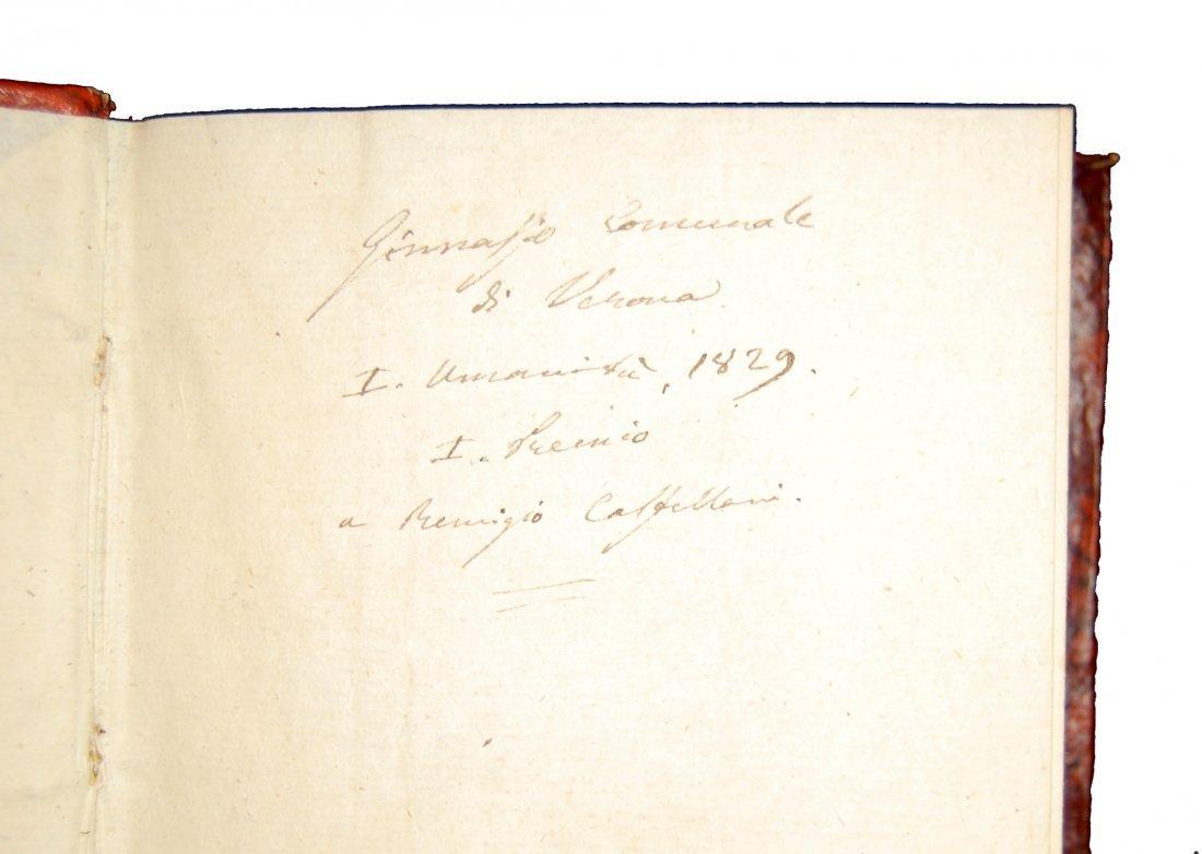 [Poetry, Divine Comedy] Dante, Prato, 1822, 3 vols - 8
