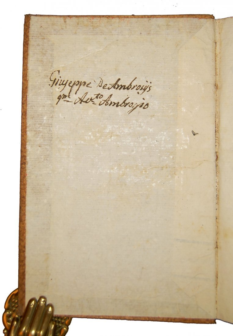 [Biographies, Austria] Vita di Giuseppe II, 1790 4 vols - 10
