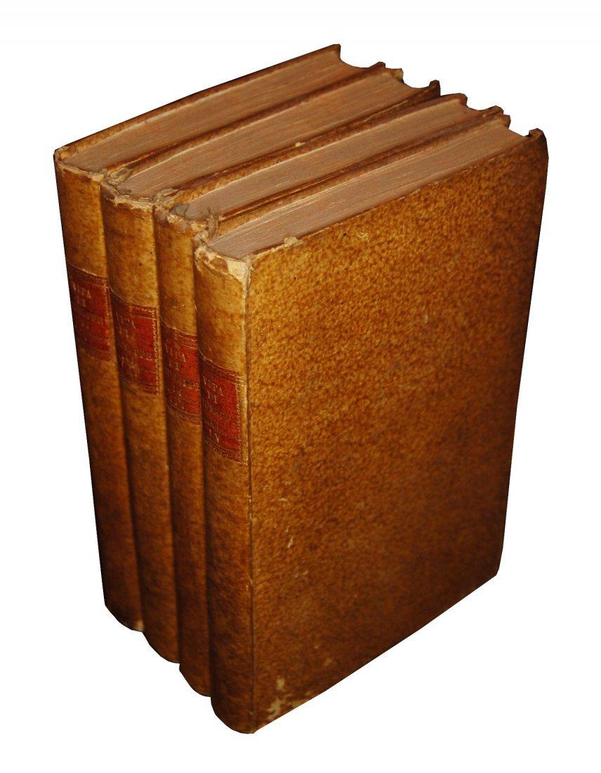 [Biographies, Austria] Vita di Giuseppe II, 1790 4 vols - 2
