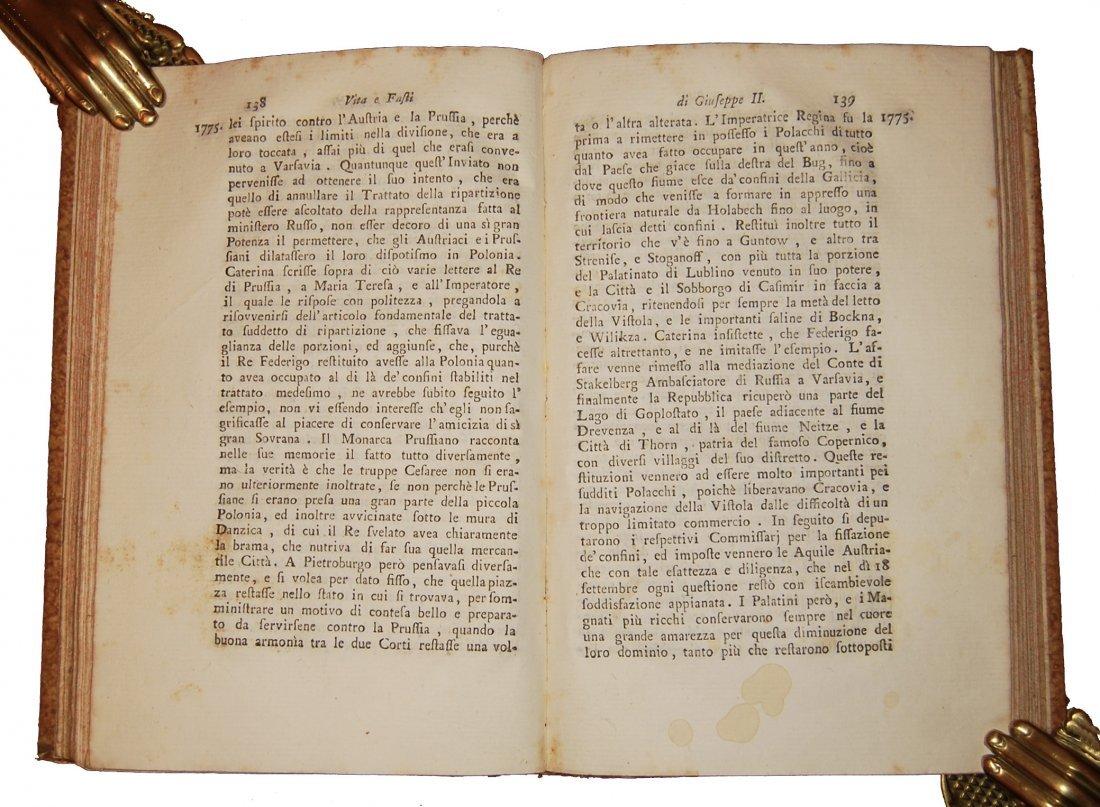 [Biographies, Austria] Vita di Giuseppe II, 1790 4 vols - 3