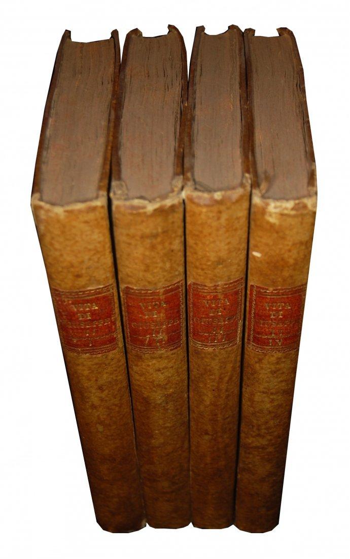 [Biographies, Austria] Vita di Giuseppe II, 1790 4 vols - 9