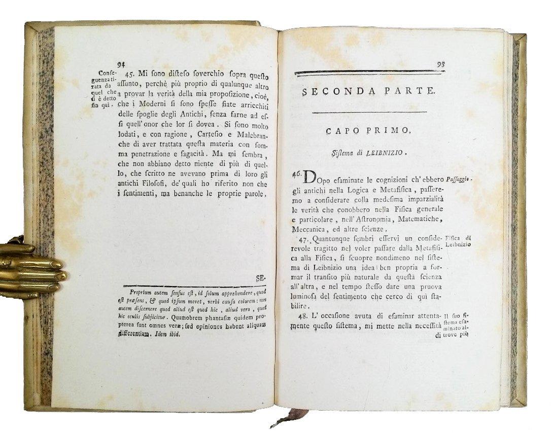 [Erudition] Dutens, Origine delle scoperte, 1787 3 vols - 3
