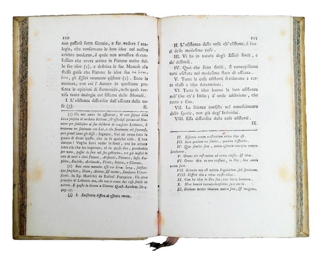 [Erudition] Dutens, Origine delle scoperte, 1787 3 vols - 4