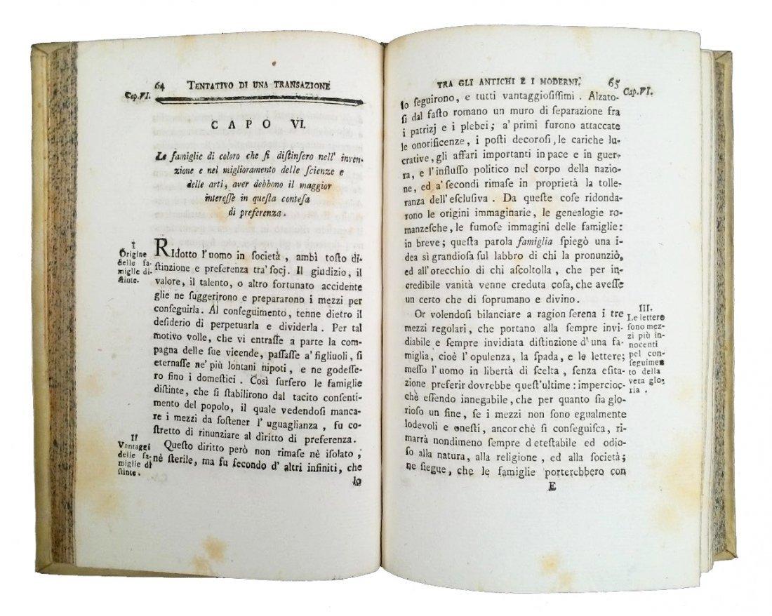 [Erudition] Dutens, Origine delle scoperte, 1787 3 vols - 8
