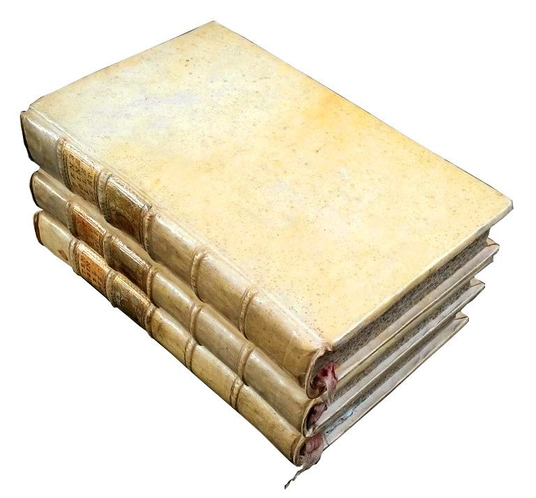 [Erudition] Dutens, Origine delle scoperte, 1787 3 vols - 9