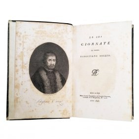 [tales, History, Ethics] Erizzo-gozzi, 6 Vols (2 Wks)