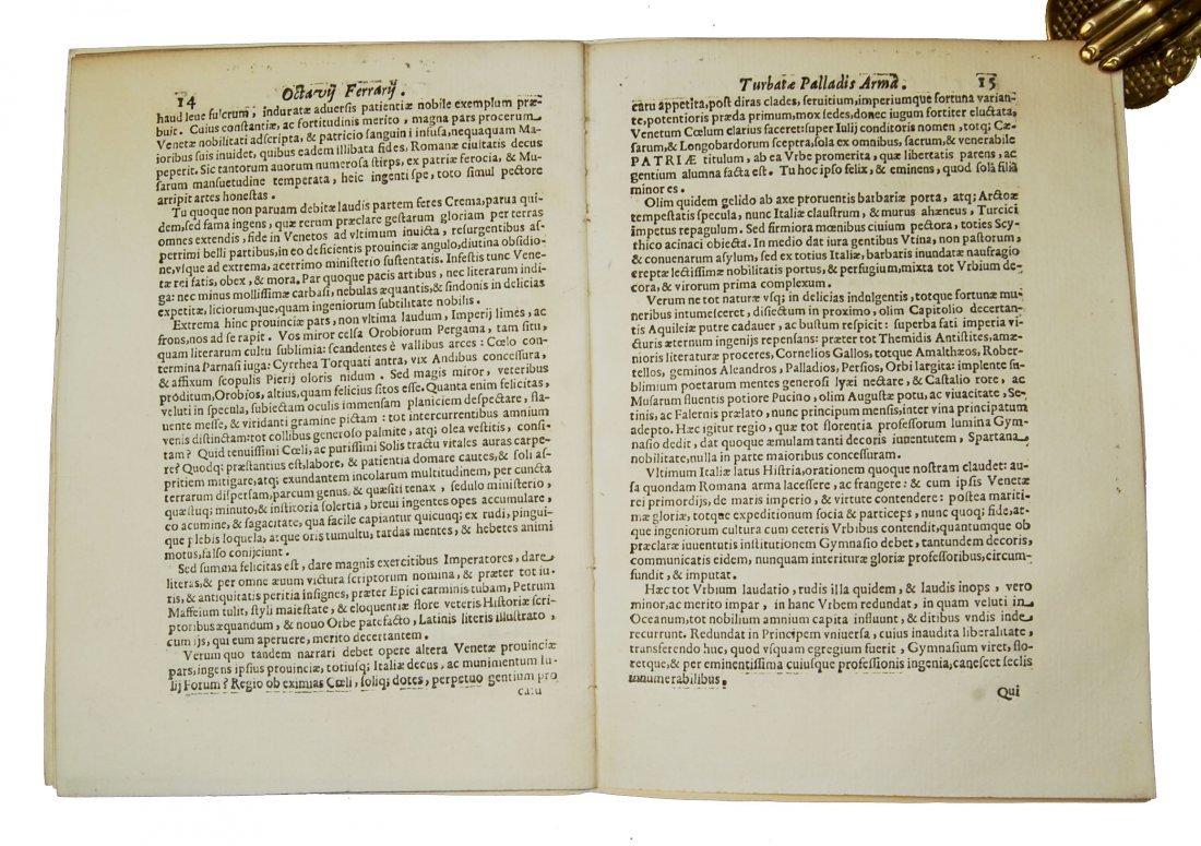 [Minerva, Roman Deity] Ferrari, Prolusio 31 & 32, 1674 - 8