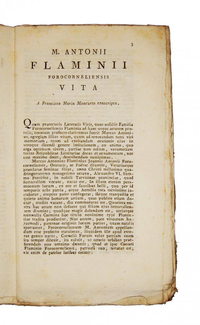[Poetry] Flaminio, Carminum - Fracastoro, Morbo gallico - 3