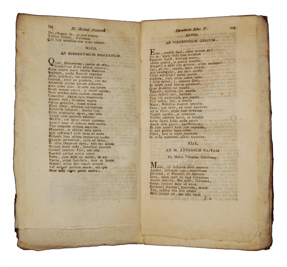 [Poetry] Flaminio, Carminum - Fracastoro, Morbo gallico - 4