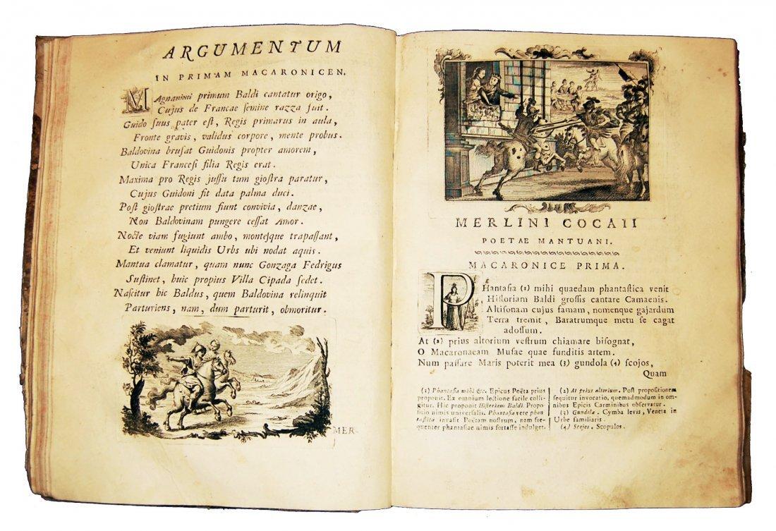 [Poetry] Folengo, Opus macaronicum, 1768-71, 2 v. - 5
