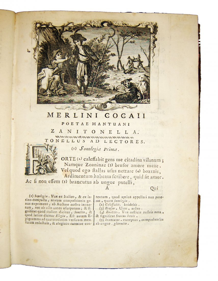 [Poetry] Folengo, Opus macaronicum, 1768-71, 2 v. - 6