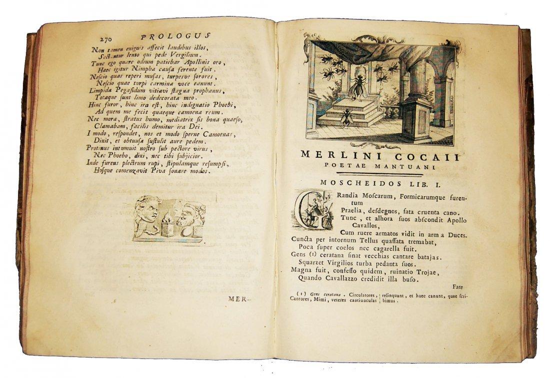 [Poetry] Folengo, Opus macaronicum, 1768-71, 2 v. - 8