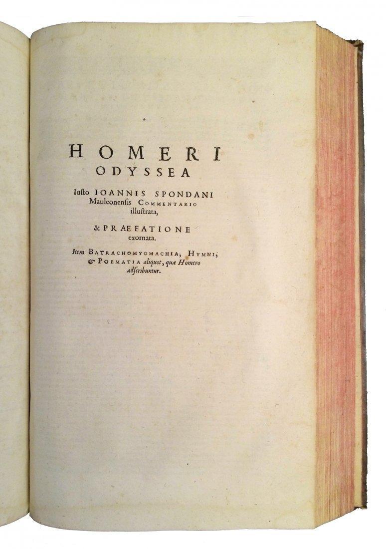 [Poetry, Greek Literature] Homer, 1606 - 6