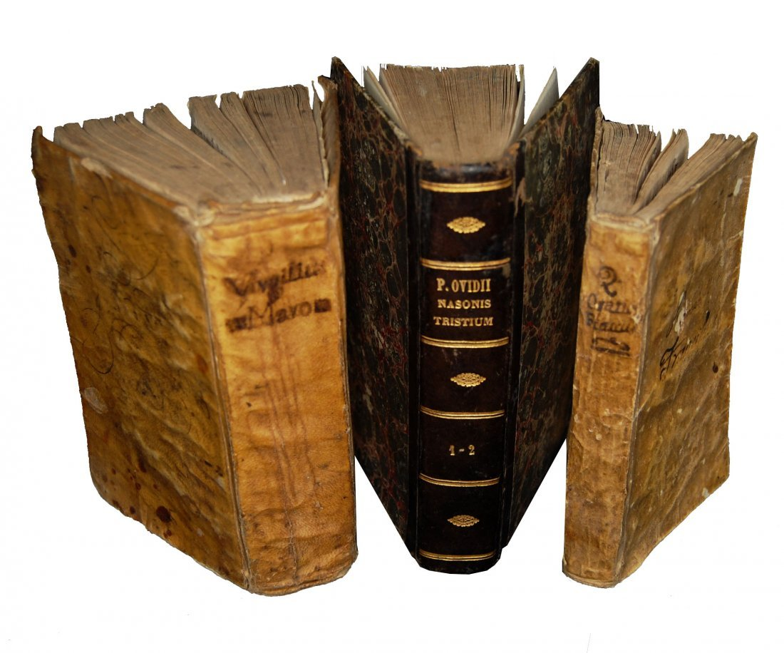 [Classics] Horatius-Ovidius-Vergilius, 1716-1858, 3 wks
