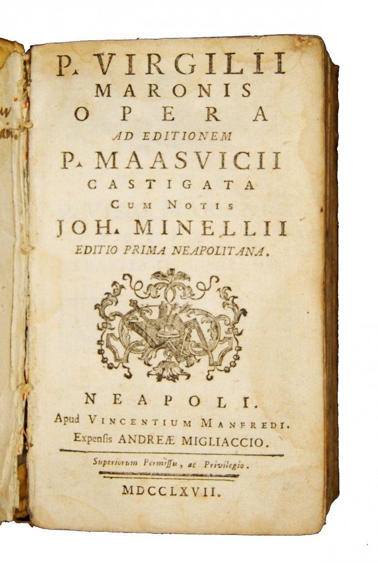 [Classics] Horatius-Ovidius-Vergilius, 1716-1858, 3 wks - 2