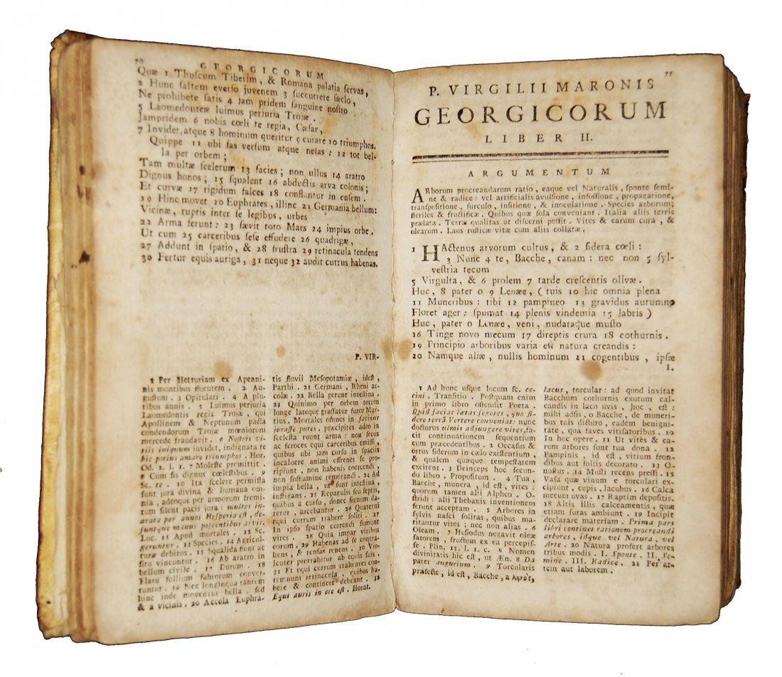 [Classics] Horatius-Ovidius-Vergilius, 1716-1858, 3 wks - 3